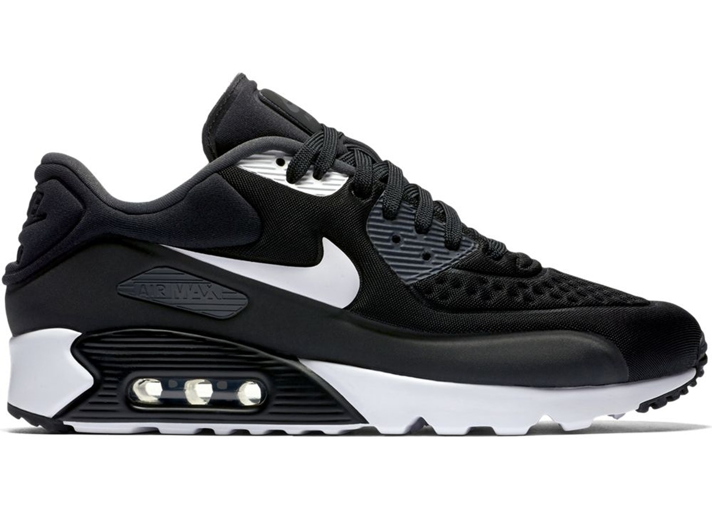 buy online 92db5 375e0 Air Max 90 Ultra Black White