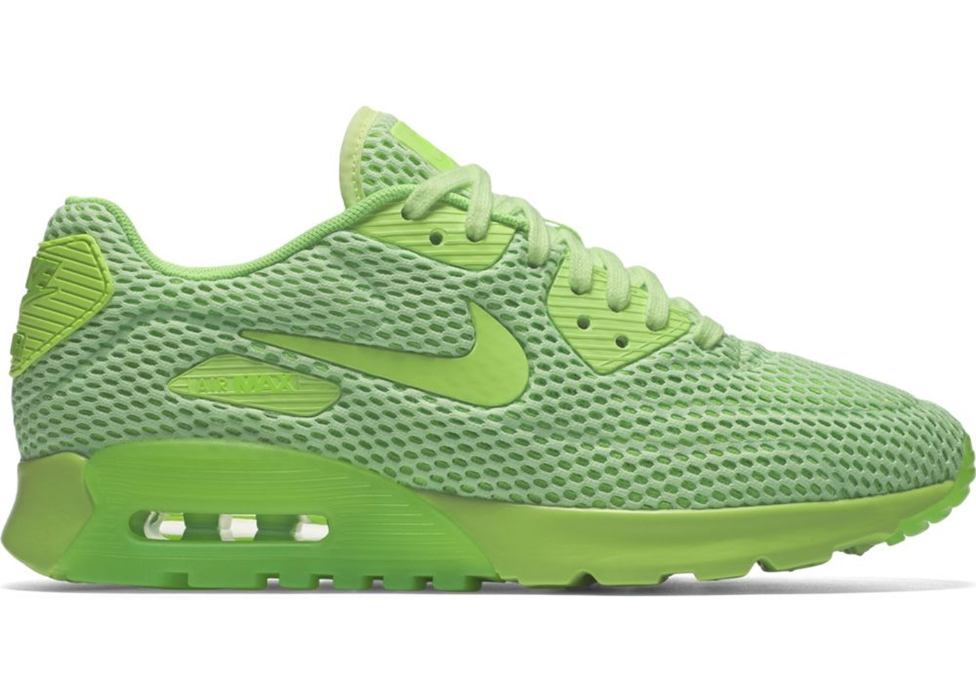Air Max 90 Ultra Breathe Ghost Green Electric Green (W