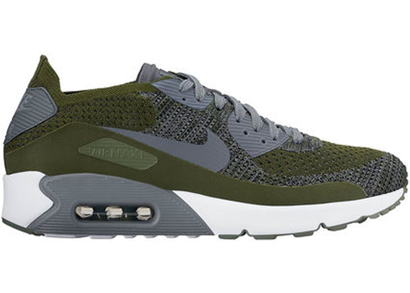 wholesale dealer b8871 d0c8e Air Max 90 Ultra Flyknit 2.0 Green