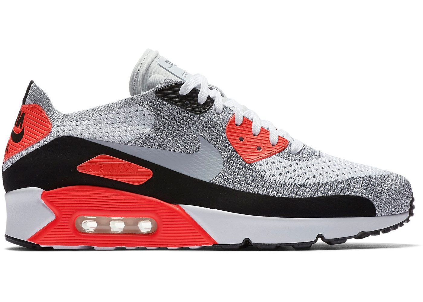 Air Max 90 Ultra Flyknit 2.0 Infrared - 875943-100 4663f56667b9