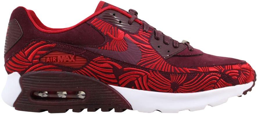 Nike Air Max 90 Ultra LOTC QS Night Maroongym Red Shanghai 847154 600 Sz 8.5