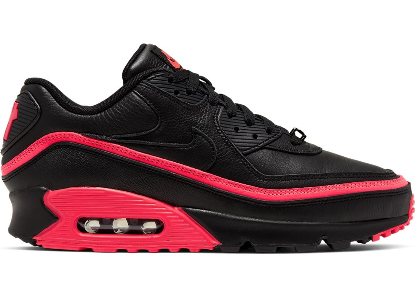 Undefeated x Air Max 90 'Black Solar Red'