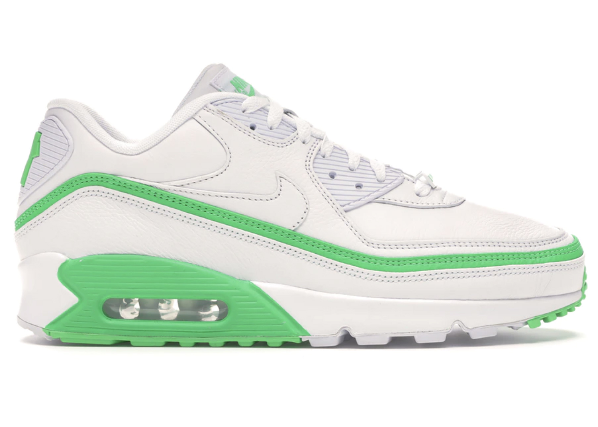 Nike Air Max 90 Undefeated White Green