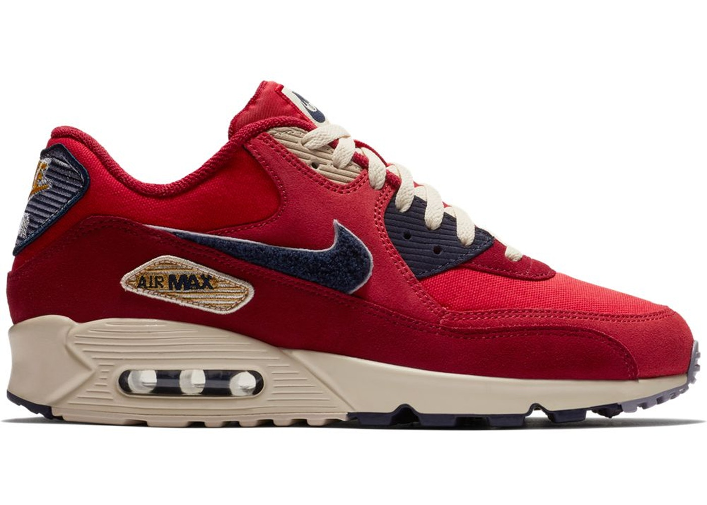 brand new fa9d3 2fe02 Air Max 90 Varsity Pack University Red