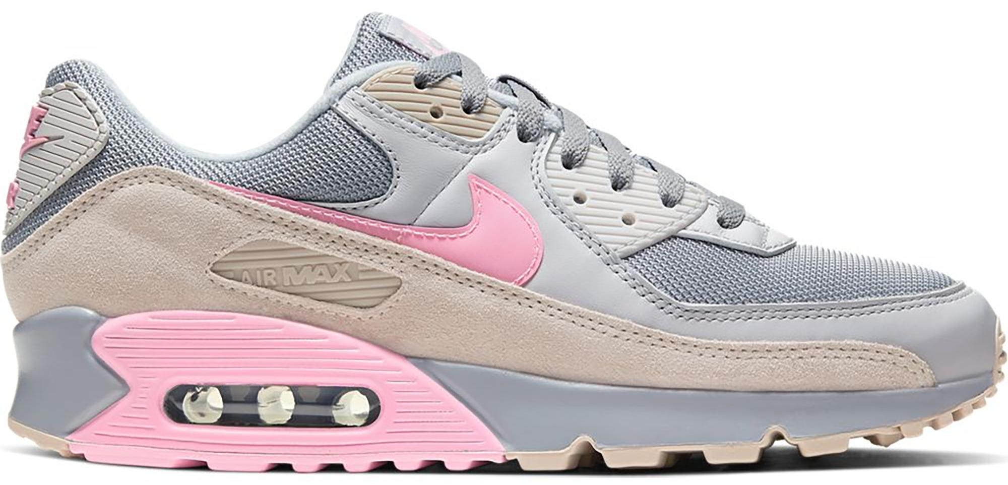 Nike Air Max 90 Vast Grey Pink - CW7483-001