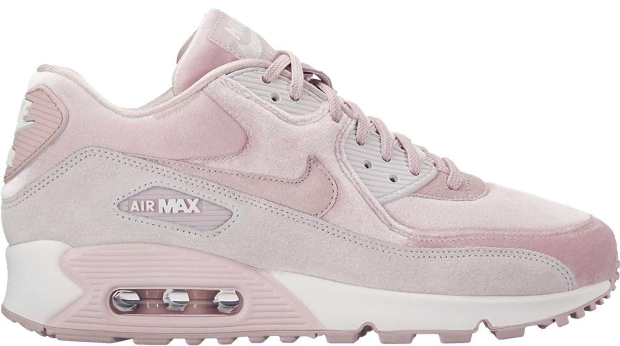 Nike Air Max 90 Velvet Particle Rose (W