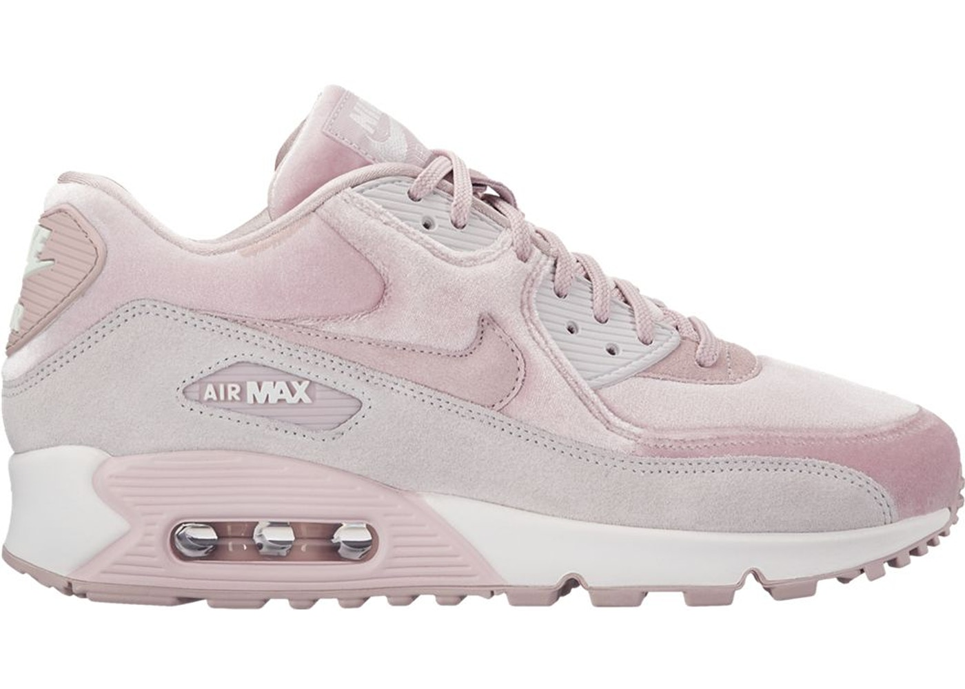 sélection premium 72e4b f43d1 Air Max 90 Velvet Particle Rose (W)