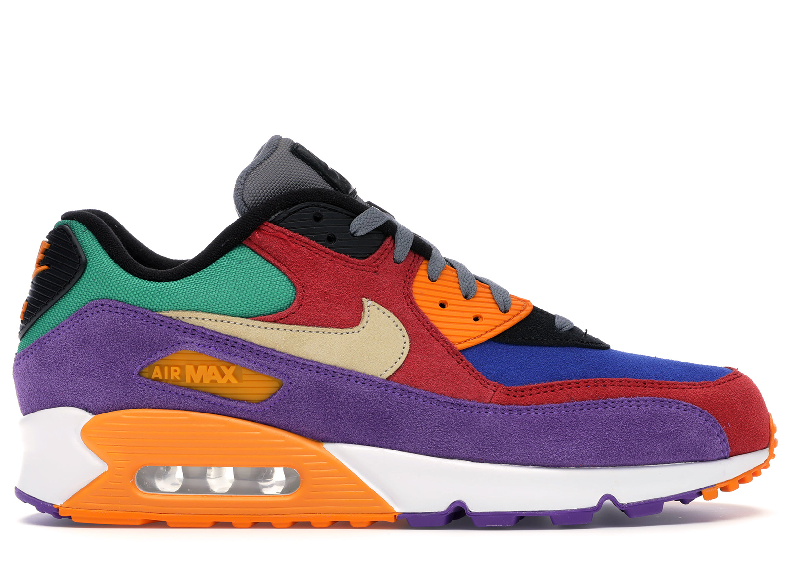 Nike Air Max 90 Candy Pink, Blau, Weiß Damen Sale UK