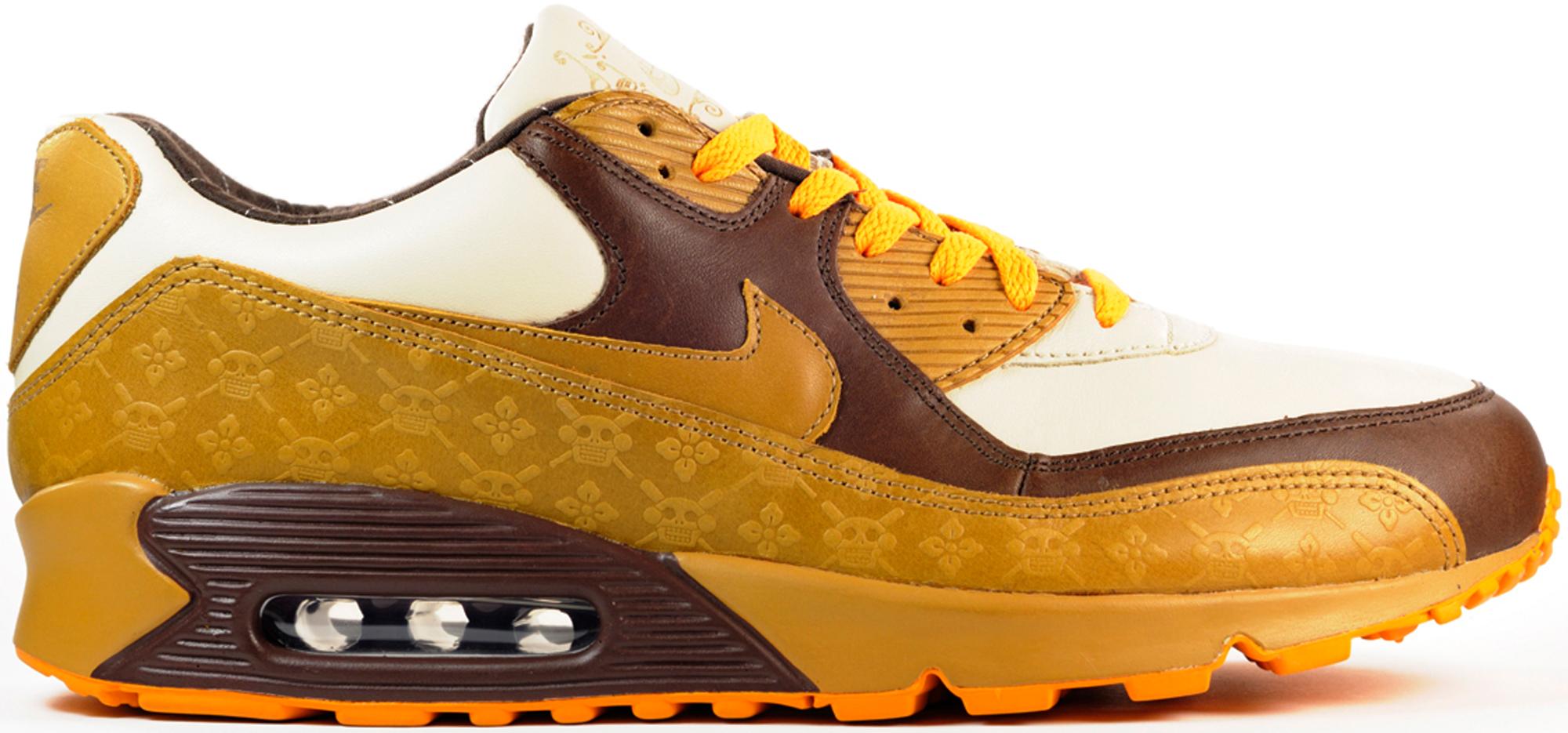 Nike Air Max 90 Wheat Skulls - 313650-271