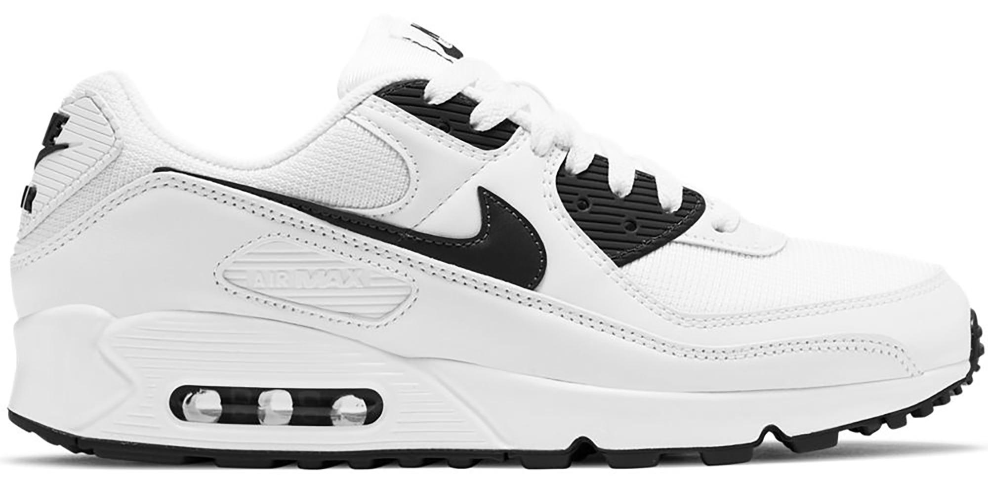 Nike Air Max 90 White Black (2020