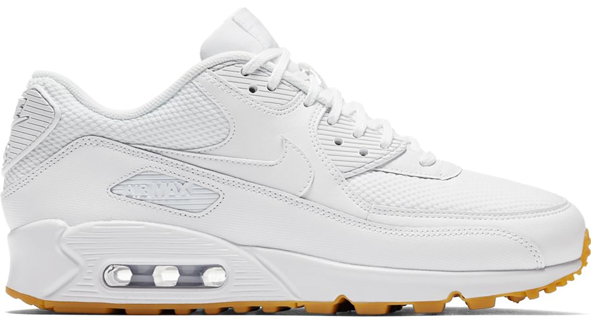 Nike Air Max 90 White Gum (W) - 325213-135