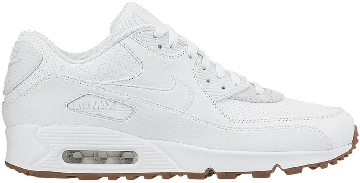 Nike Air Max 90 White Ostrich - 705012-111