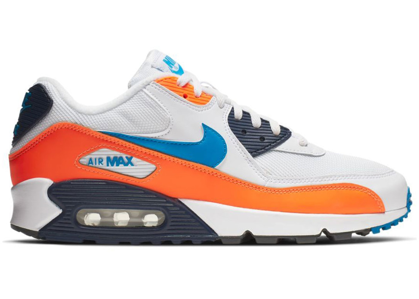 52fbec7f18 Sell. or Ask. Size: 9.5. View All Bids. Air Max 90 White Photo Blue Total  Orange