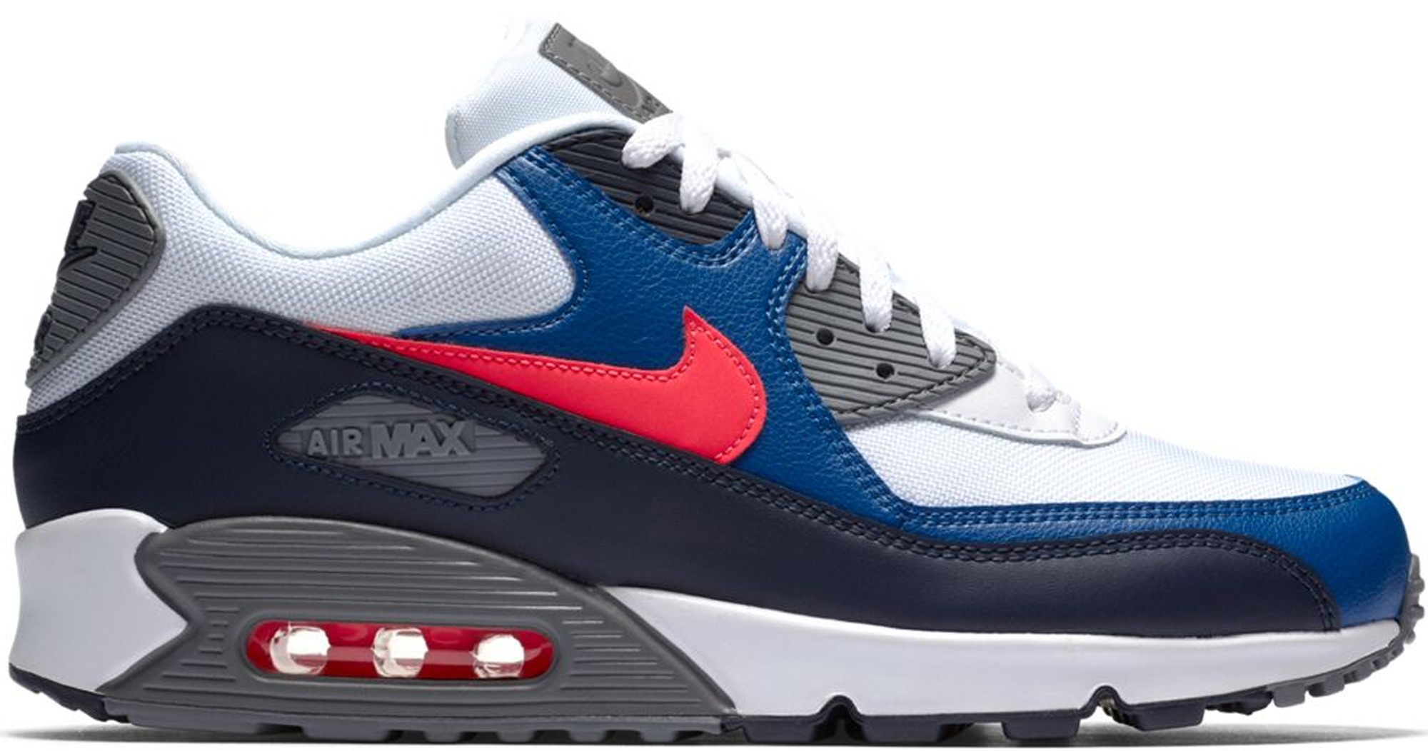 Nike Air Max 90 White Obsidian Red