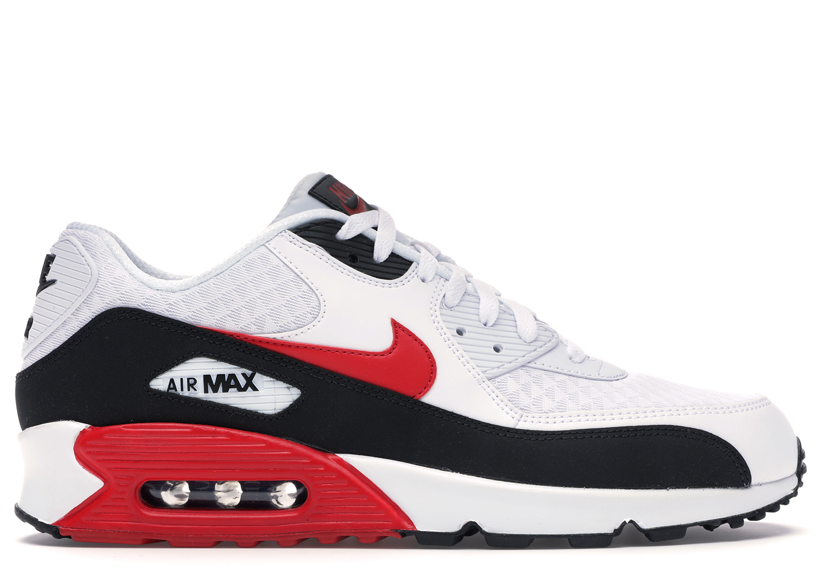 Nike Air Max 90 White University Red
