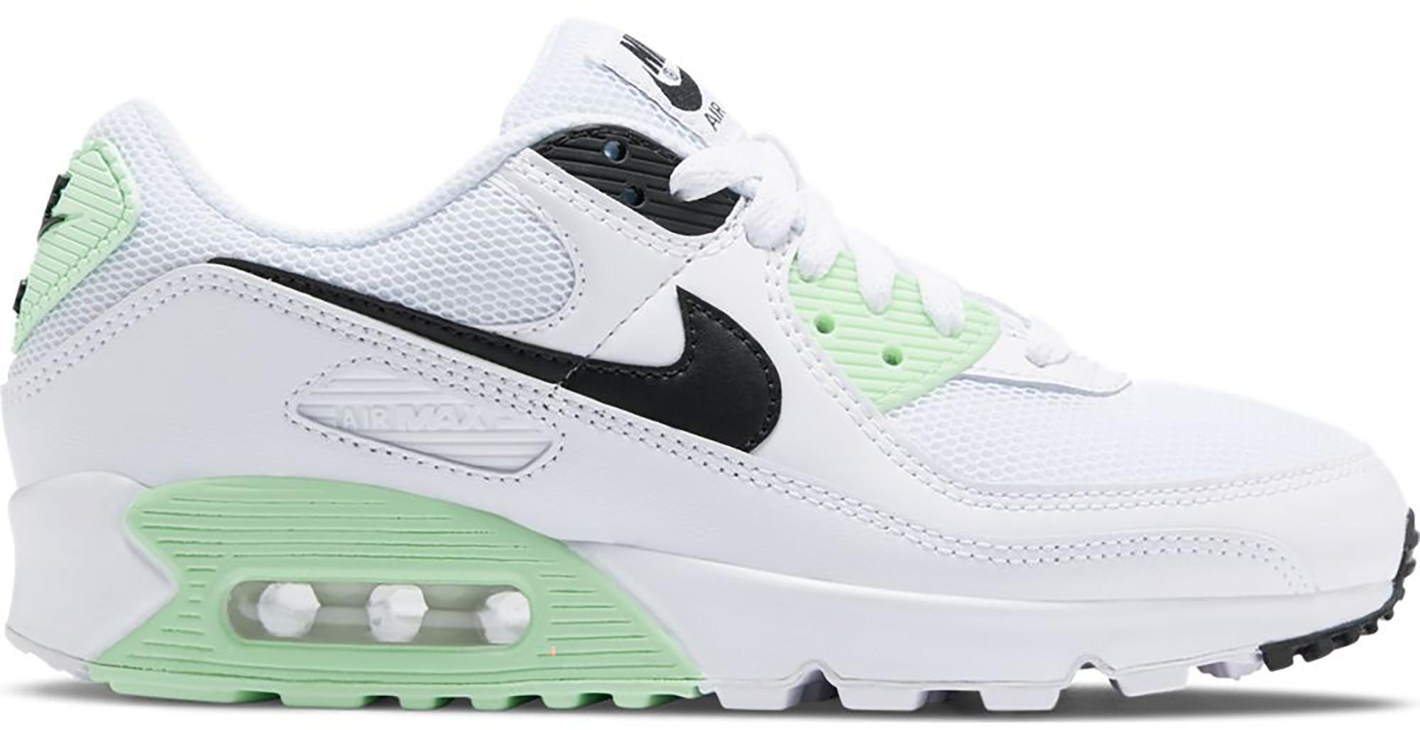 Nike Air Max 90 White Vapor Green Black