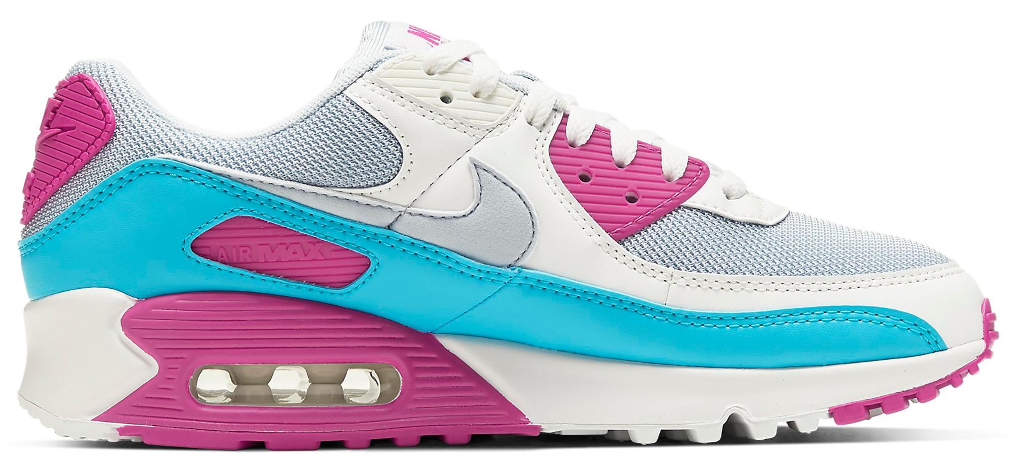 Nike Air Max 90 White Vivid Pink Light