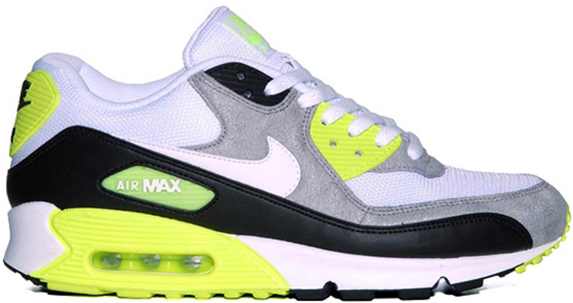 Nike Air Max 90 White Volt (2012