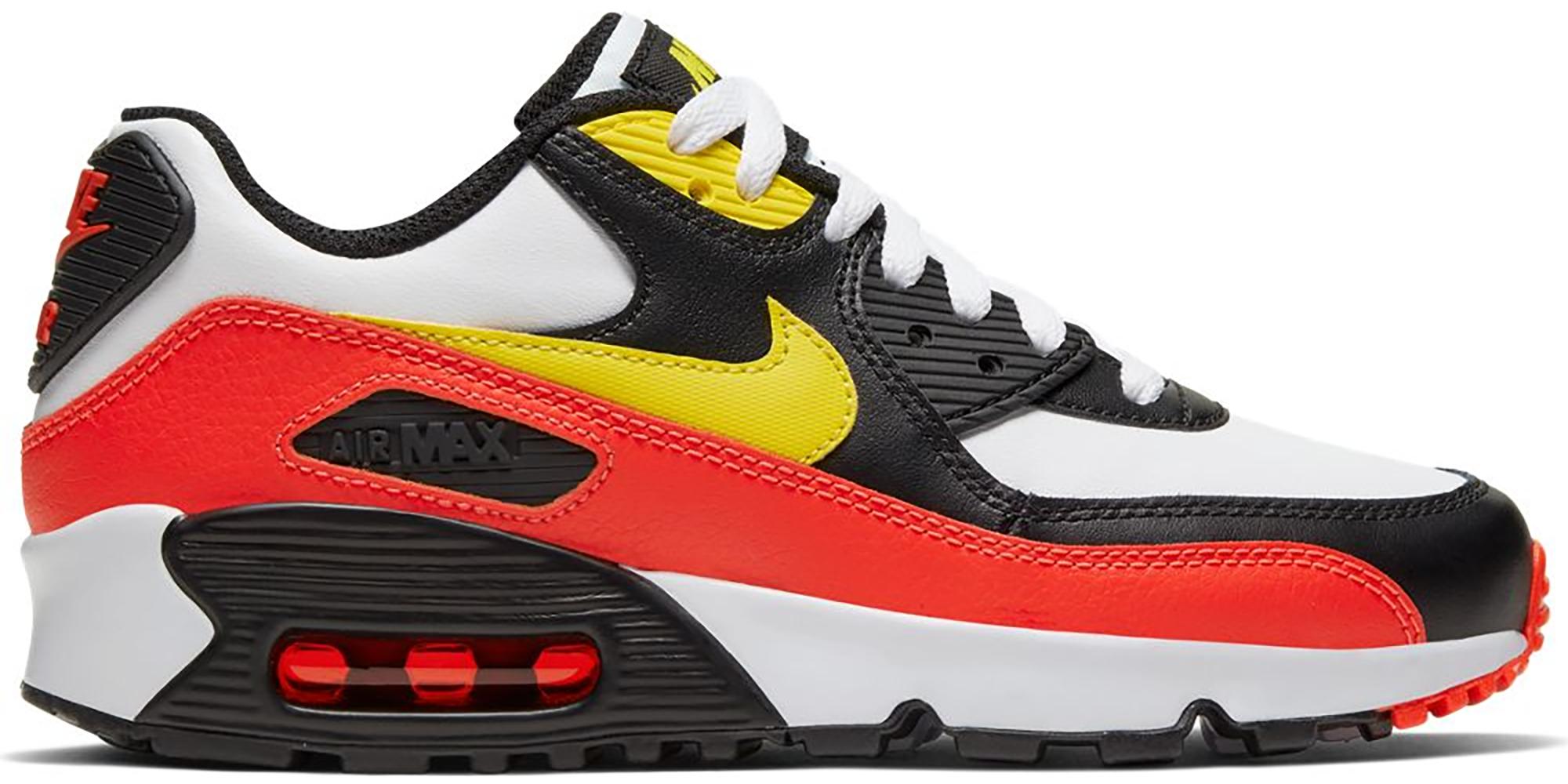 Nike Air Max 90 White Yellow Black