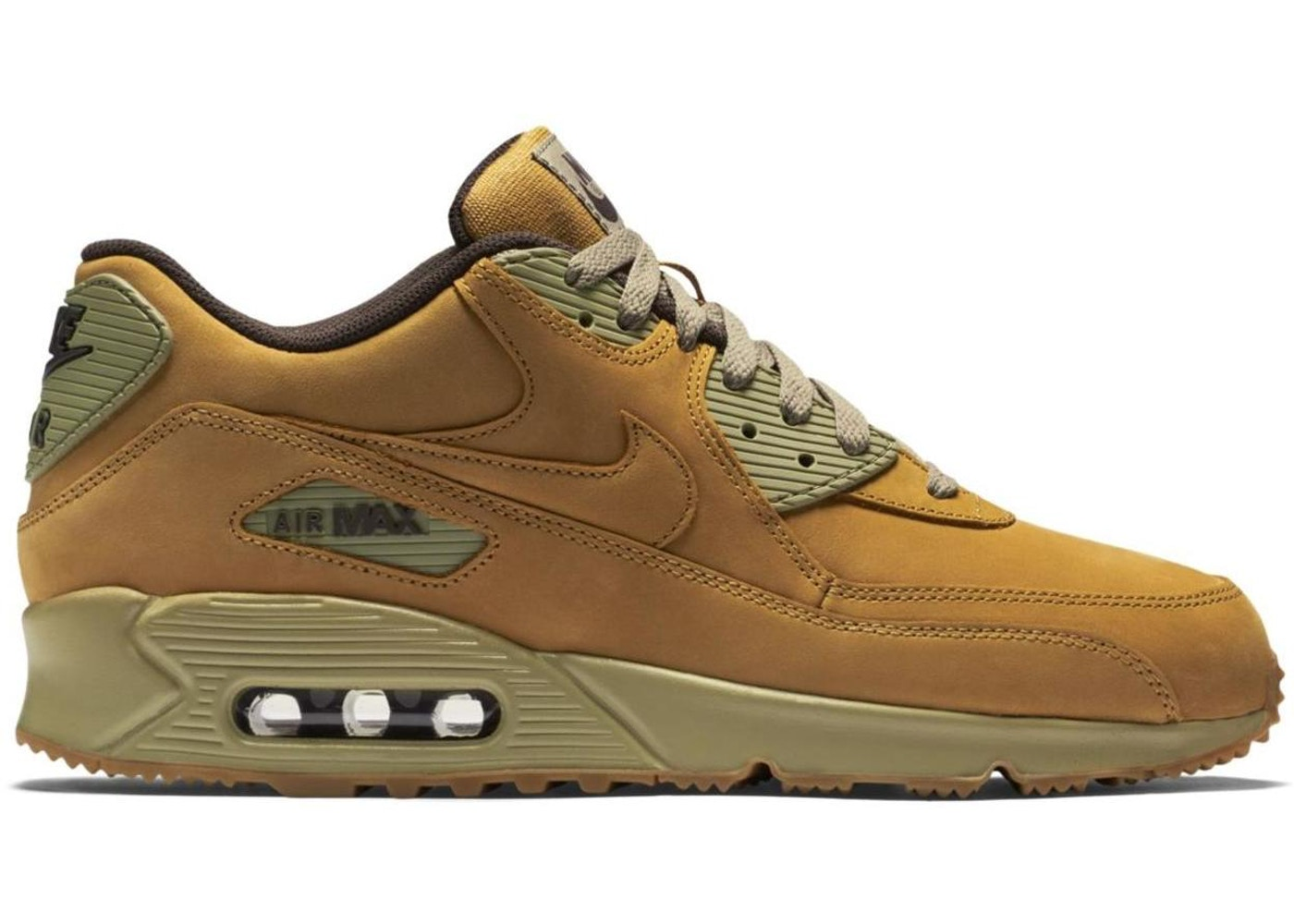 Eliminar residuo Amasar  Nike Air Max 90 Winter Wheat - 683282-700