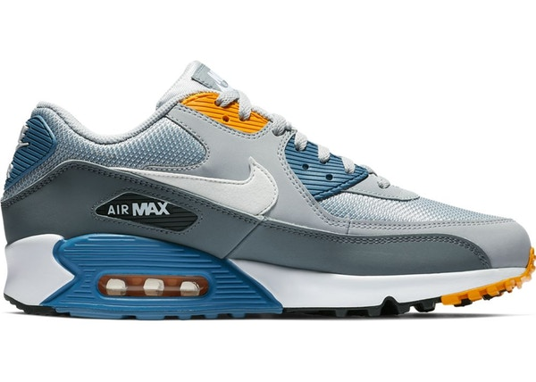 the latest b8b15 568a9 Air Max 90 Wolf Grey Indigo Storm