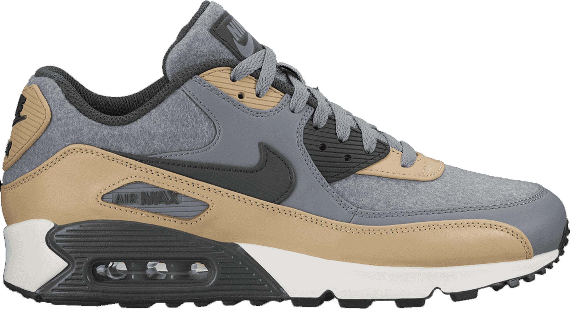 Nike Air Max 90 Wool Cool Grey Mushroom