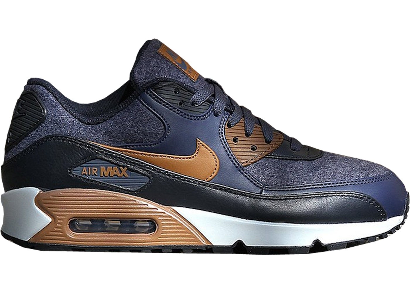Air Max 90 Wool Thunder Blue
