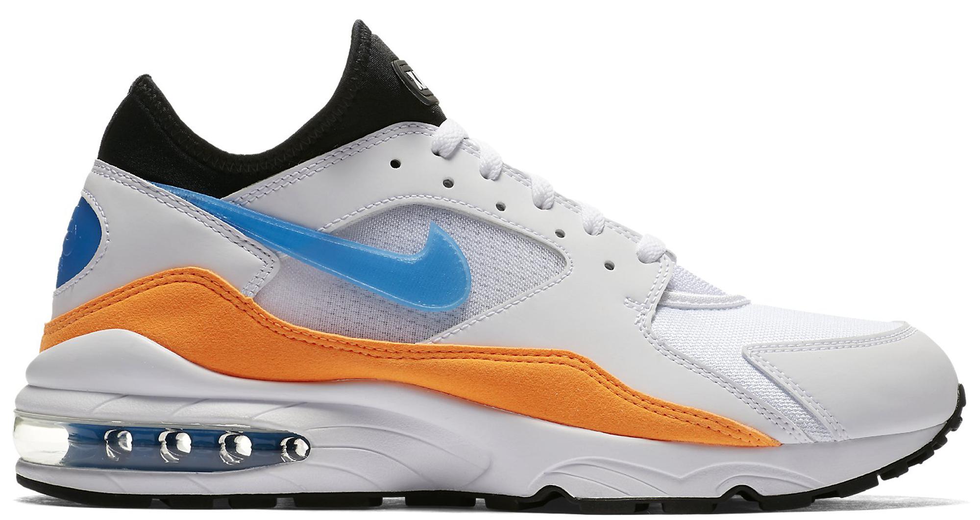 Nike Air Max 93 Nebula Blue Orange