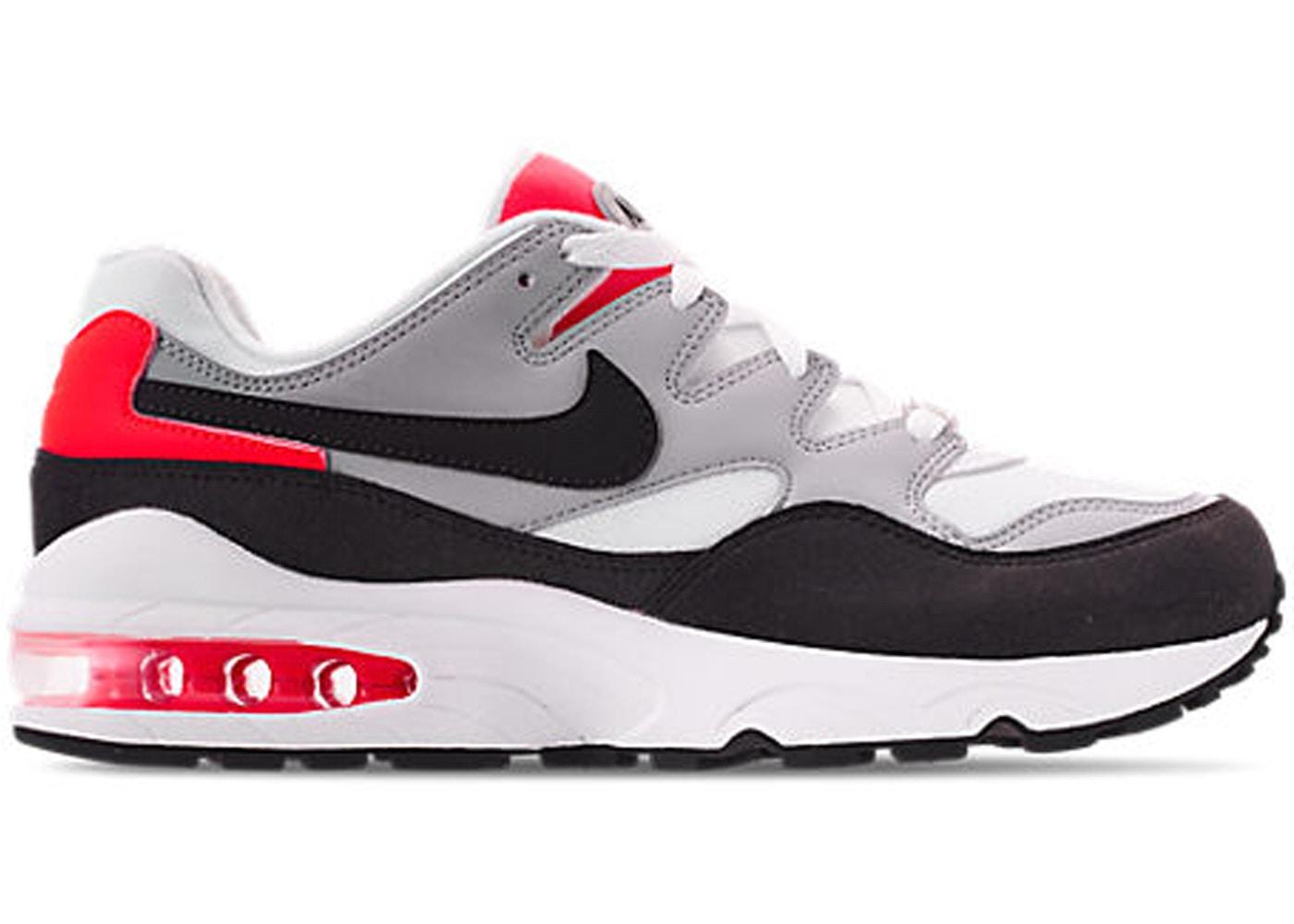 Nike Air Max 94 Wolf Grey Bright Crimson - 747997-006