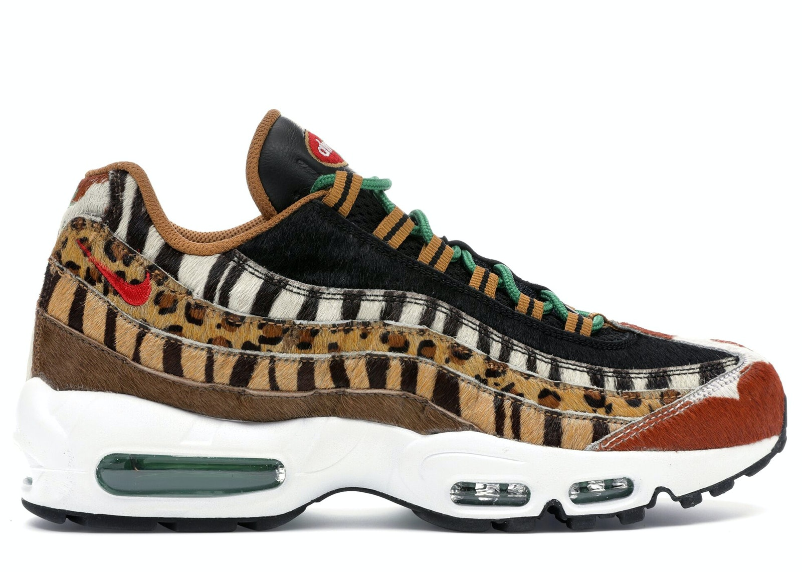 Air Max 95 Atmos Animal Pack 2.0 (2018 All Black Box)
