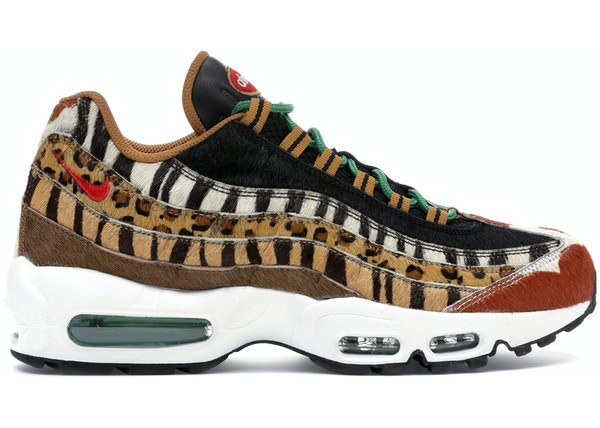 free shipping 6f6cb 7da37 Air Max 95 Atmos Animal Pack 2.0 (2018 All Black Box)
