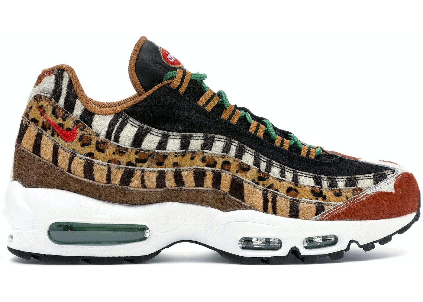 Maestro Alcalde siete y media  Nike Air Max 95 Atmos Animal Pack 2.0 (2018 All Black Box) - AQ0929-200