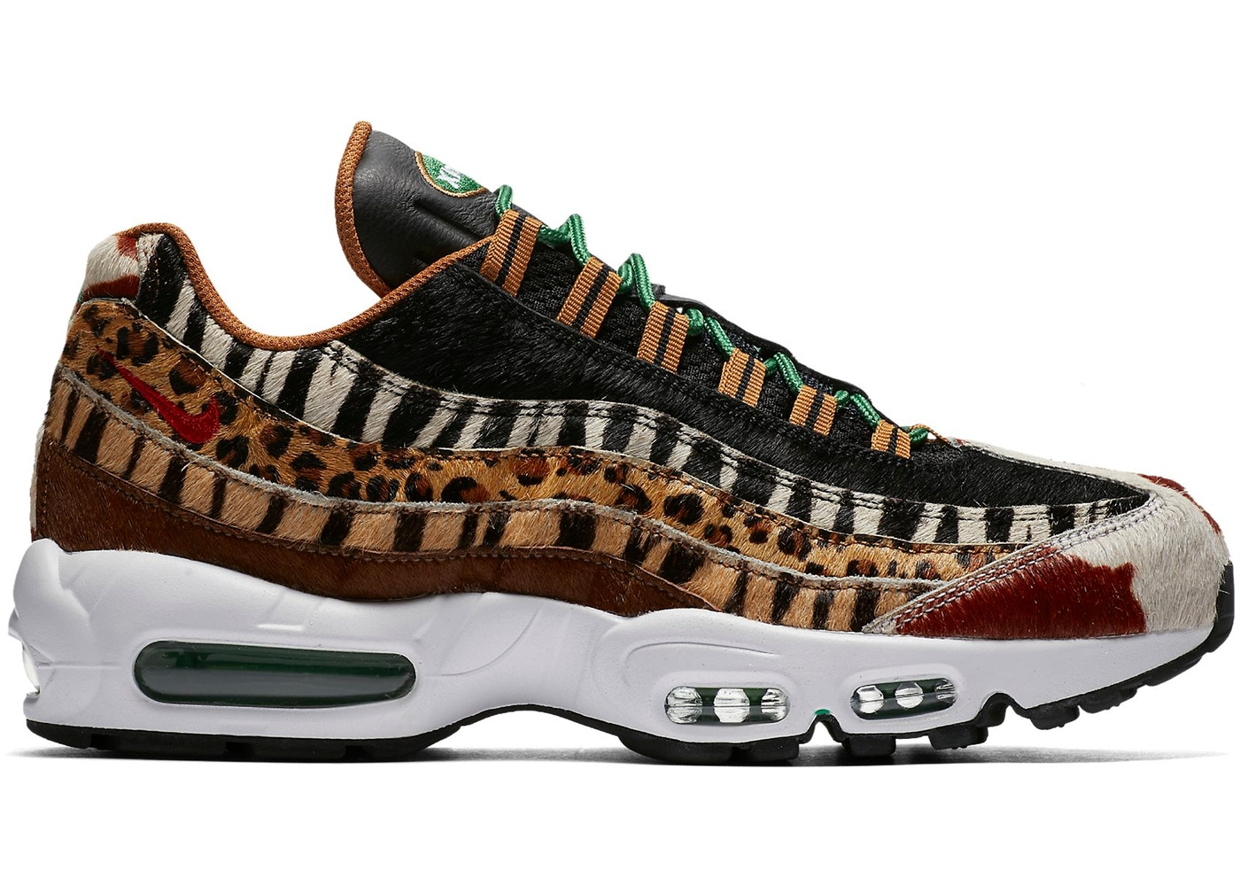 the best attitude c8416 bf431 Air Max 95 Atmos Animal Pack 2.0 (2018 Animal Print Box)