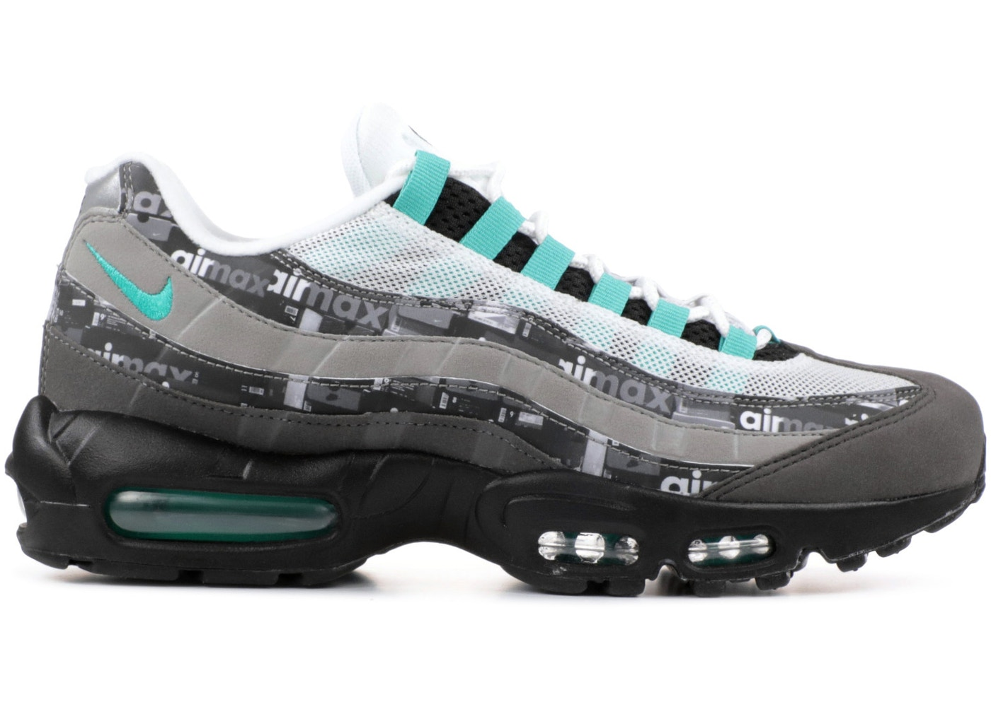 sports shoes 75f91 be322 Air Max 95 Atmos We Love Nike (Clear Jade)