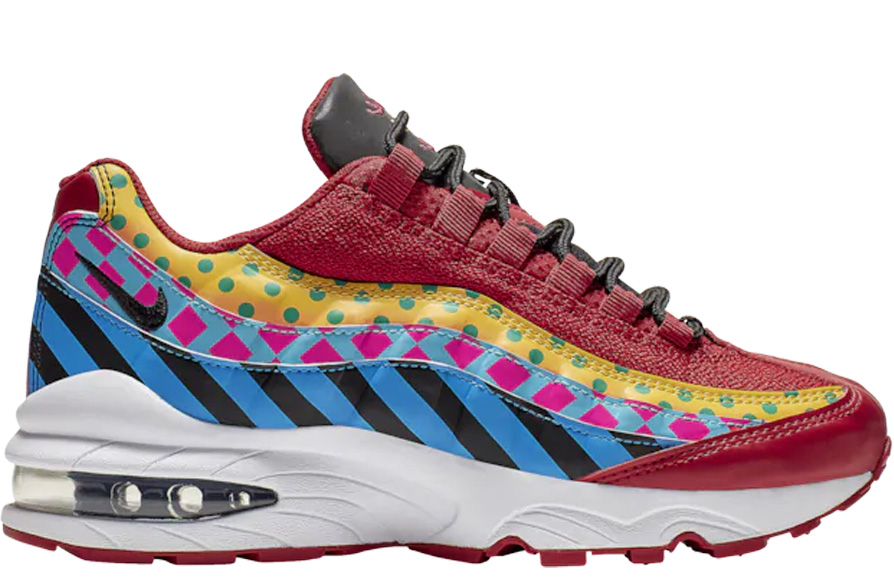 newest 4e9dc 03e06 Air Max 95 Baltimore (Gs) in Gym Red/Black/White/Gold