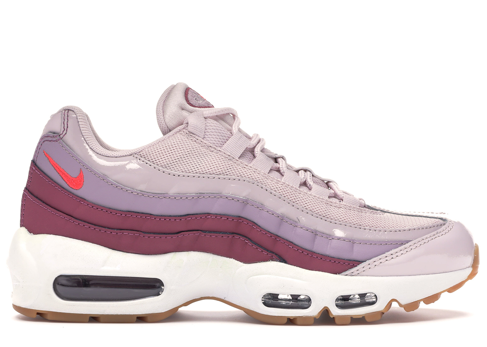Nike Air Max 95 OG Barely RoseVintage WineWeißHot Punch