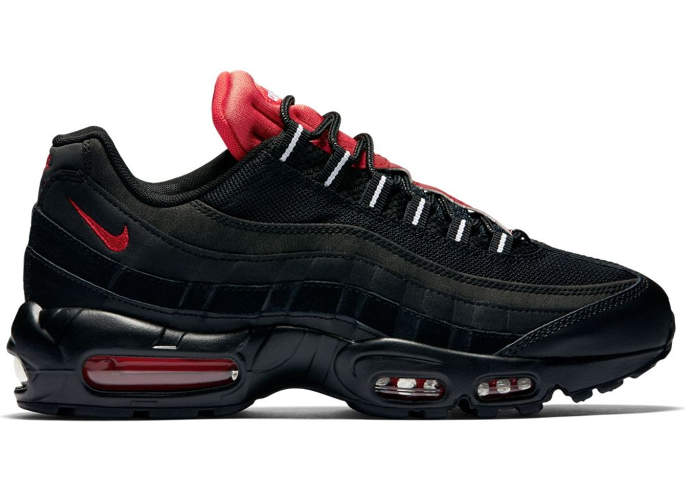 watch 36d36 457ce Air Max 95 Black Challenge Red