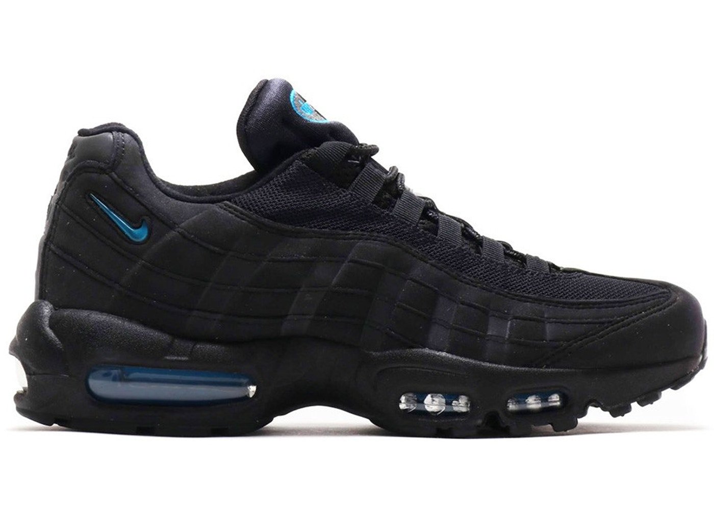 Nike Air Max 95 Black Imperial Blue Atmos Exclusive Sneakers