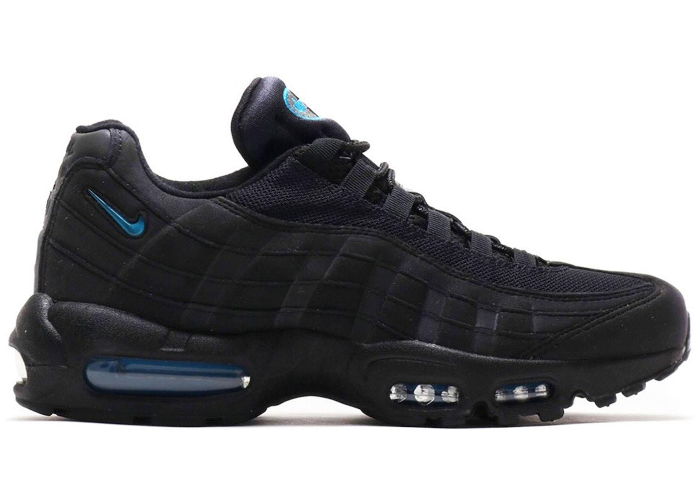 Rudyard Kipling radical a menudo  Nike Air Max 95 Black Imperial Blue (atmos Exclusive) - Sneakers