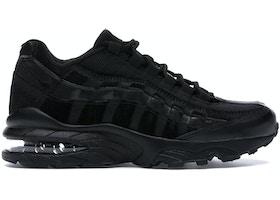 Nike Air Max 95 Black Suede (GS)