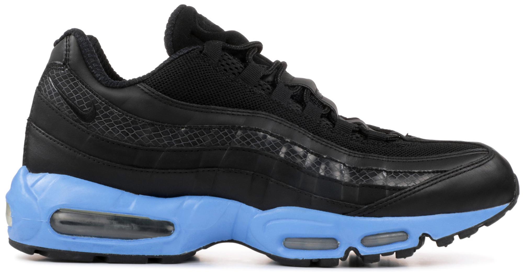 black and blue 95 air max
