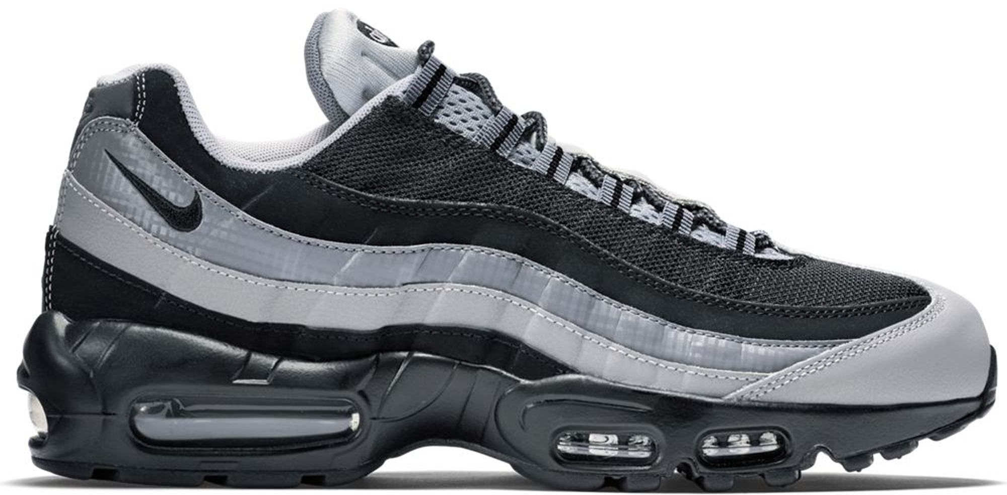 Nike Air Max 95 Black Wolf Grey Cool