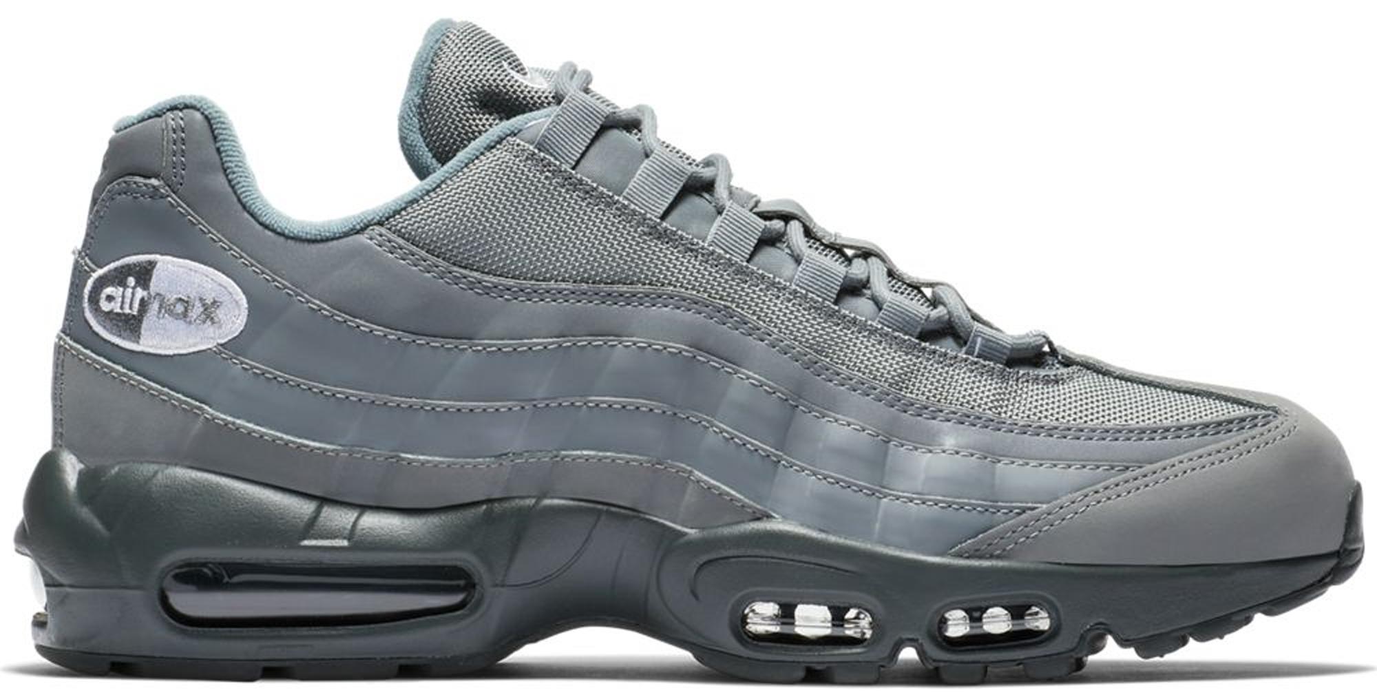 all gray air max 95