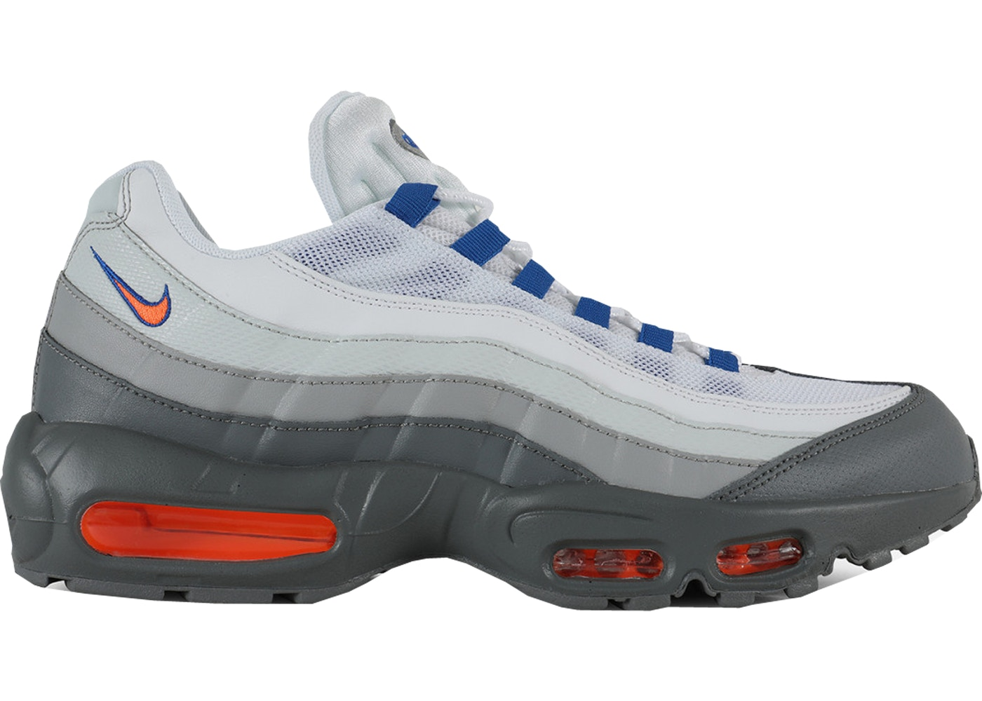 super popular 3096d 54e44 Air Max 95 Cool Grey Total Orange