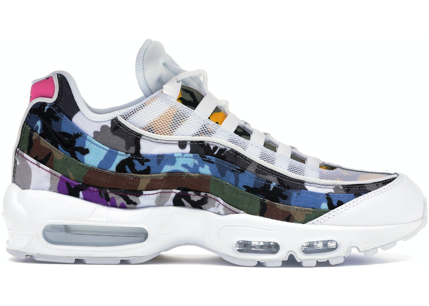 sale retailer 1c049 ef0aa Air Max 95 ERDL Party White