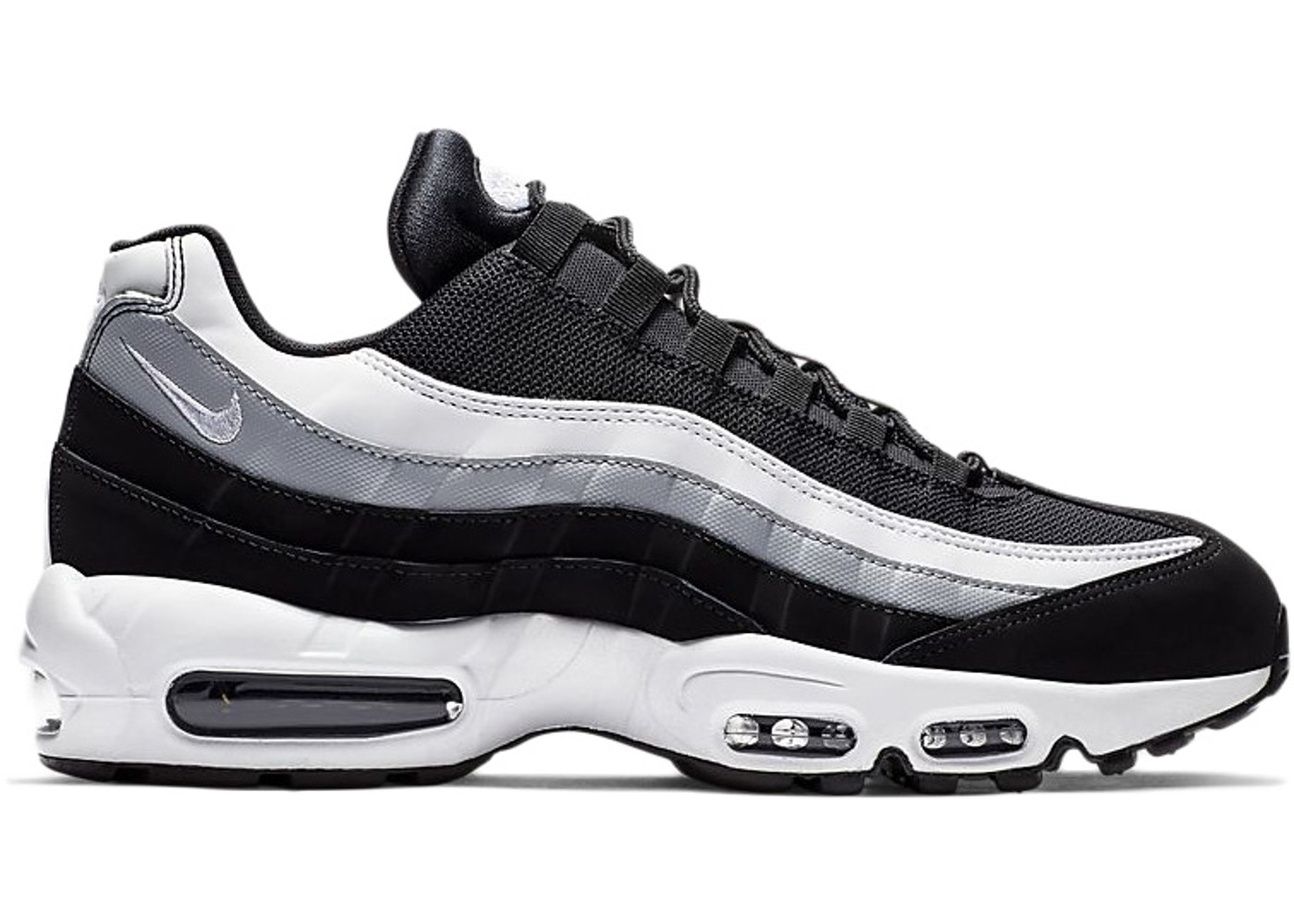 classic fit 26e64 947ee Air Max 95 Essential Black Wolf Grey