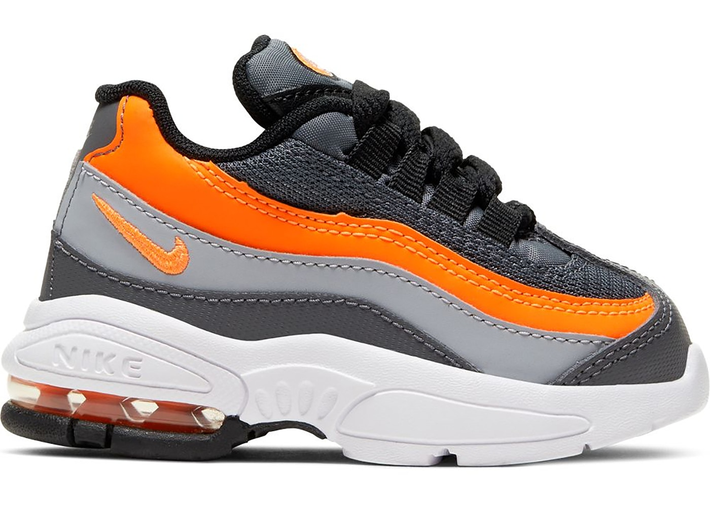 air max 95 black orange grey