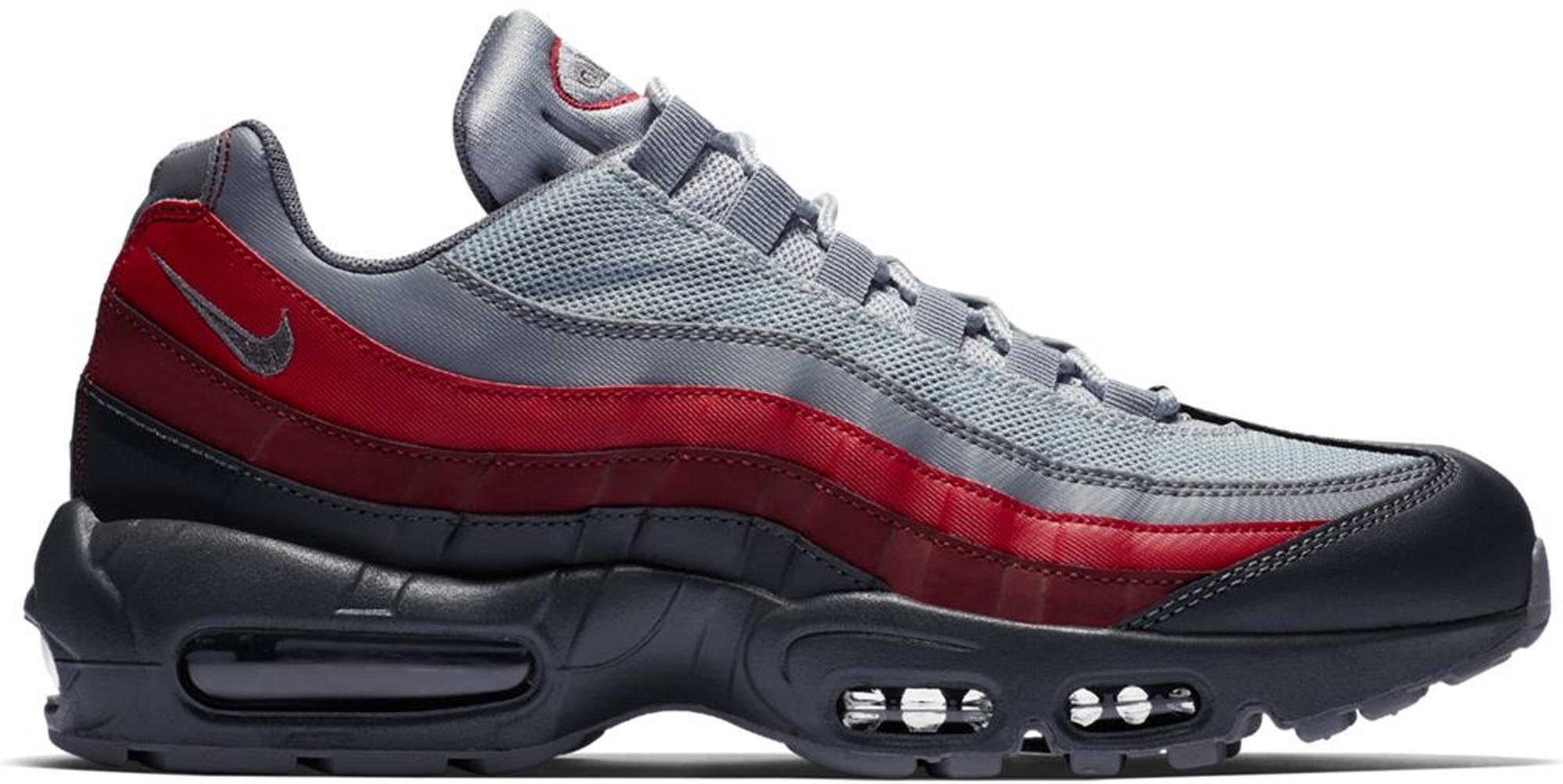 Nike Air Max 95 Grey Team Red - 749766-025