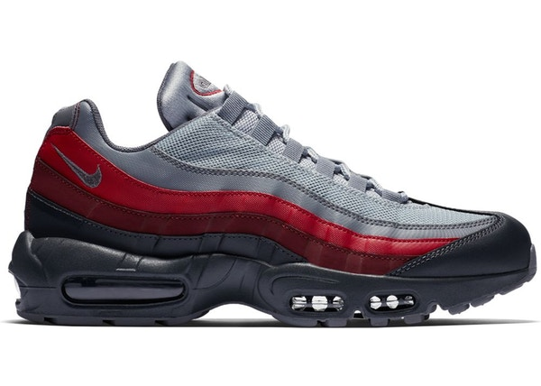 great deals 2017 best shoes discount shop Air Max 95 Grey Team Red
