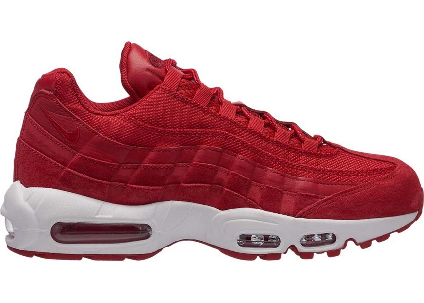 detailed look d9a24 ec699 Air Max 95 Gym Red Team Red